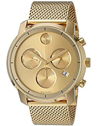 Mens Swiss Quartz Tone and Gold Plated Watch(Model: 3600372)