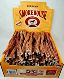 Smokehouse Steer Pizzles 12IN 100ct Beef Sticks