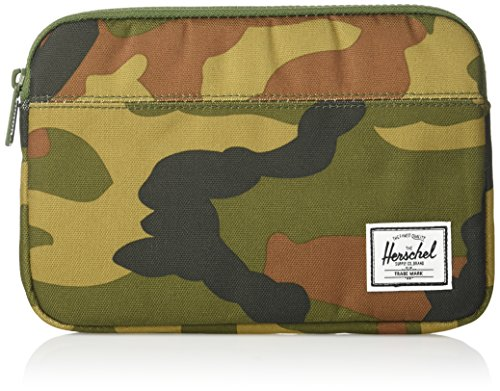 Herschel Supply Co. Unisex-Adult's Anchor iPad Mini Sleeve, woodland camo, One Size