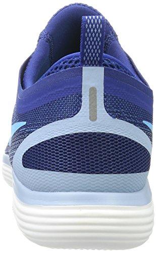 Nike Free RN Distance 2, Zapatillas de Running Para Hombre, Azul (Gym Fury-Binary Blue-Cirrus White), 45.5 EU