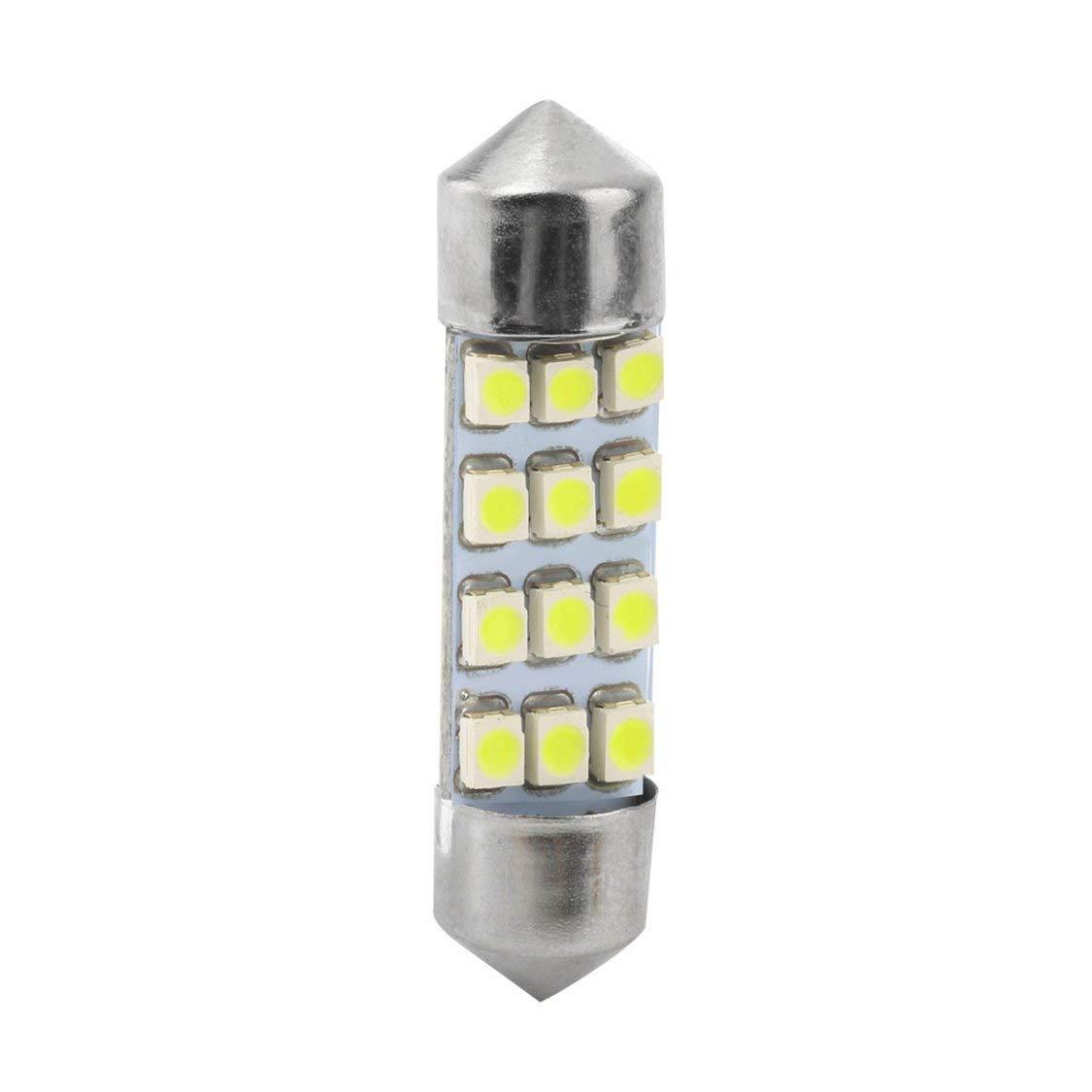 1pc 42mm C5W C10W SV8.5 9 led 5630 smd Festoon CANBUS NO Error Luz de la placa de matr/ícula del coche L/ámparas de c/úpula autom/áticas Luces de lectura 12V