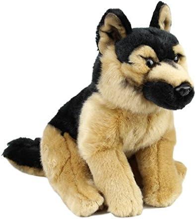 This Is Fine Dog Stuffed Animal, Sawley Fine Arts Plush Dog German Shepherd Stuffed Collectible Animal Cute Toy Amazon Ca Clothing Accessories