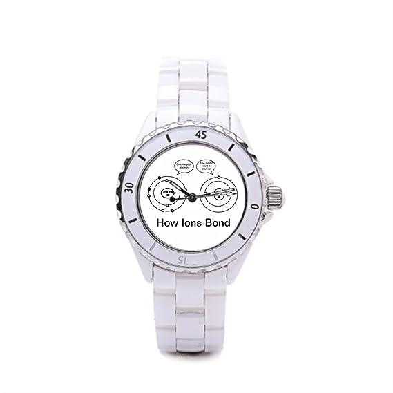 comprar relojes en línea GENERAL química de cerámica reloj marcas: Amazon.es: Relojes