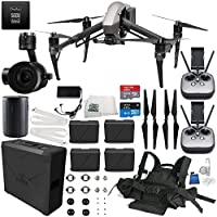 DJI Inspire 2 Premium Combo with Zenmuse X5S and CinemaDNG and Apple ProRes Licenses Filmmaker Ultimate Travel Bundle