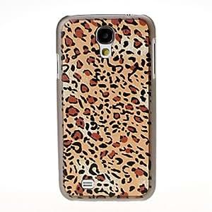 comprar Patrón Leopard Negro duro caso para cubrir i9500 Samsung Galaxy S4