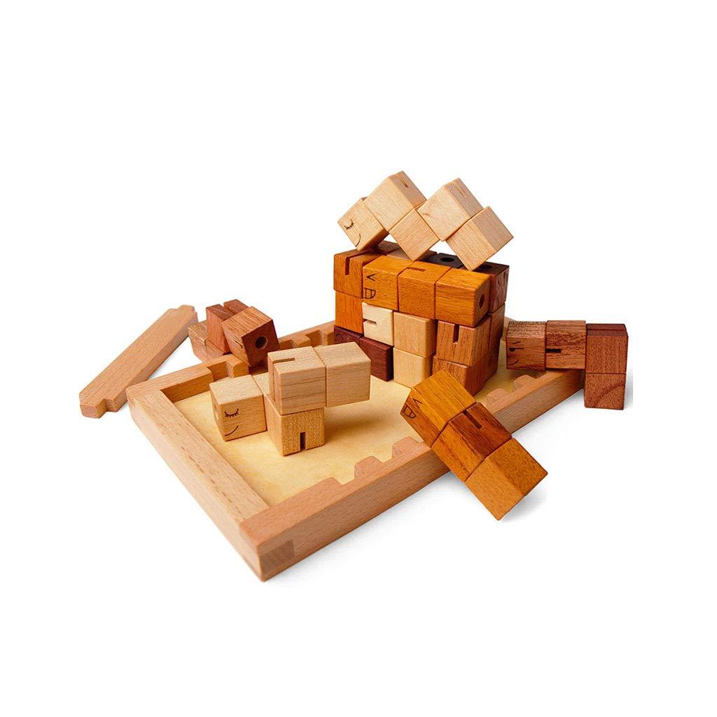 HXGL-おもちゃ 木のブロック3歳以上の家を建てるおもちゃを組み立てる子供のギフト Wooden (色 : (色 Wooden) B07DKBLMNC B07DKBLMNC Wooden, タテヤママチ:d6dfbe10 --- cgt-tbc.fr