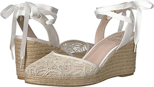 Adrianna Papell Women's Pamela Ivory 1890 Lace 6.5 M US