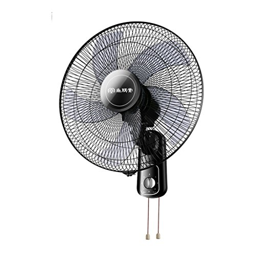 Fan MMM- Electric Wall 17 inches/Five leaf blades/Mechanical control Adjustable three gear Wind speed pivoting Silent Apply to Household office dorm room restaurant,4425cm by Fan