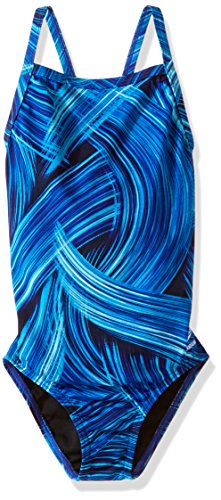 Speedo Girls Endurance+ Turbo Stroke Drop Back Swimsuit, ...