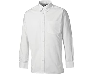 Dickies SH64200-WH-17.5 Oxford - Camisa de manga larga (talla 45), color blanco: Amazon.es: Industria, empresas y ciencia