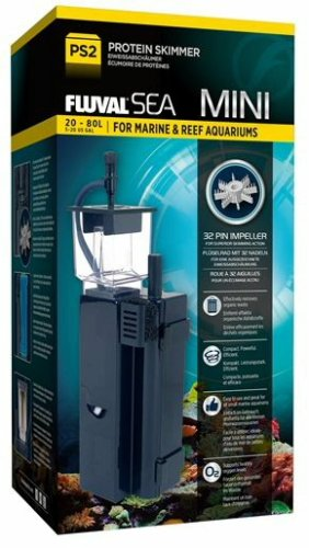Fluval 14324 Sea Mini Protein Skimmer, 5-10 Gallon, Black