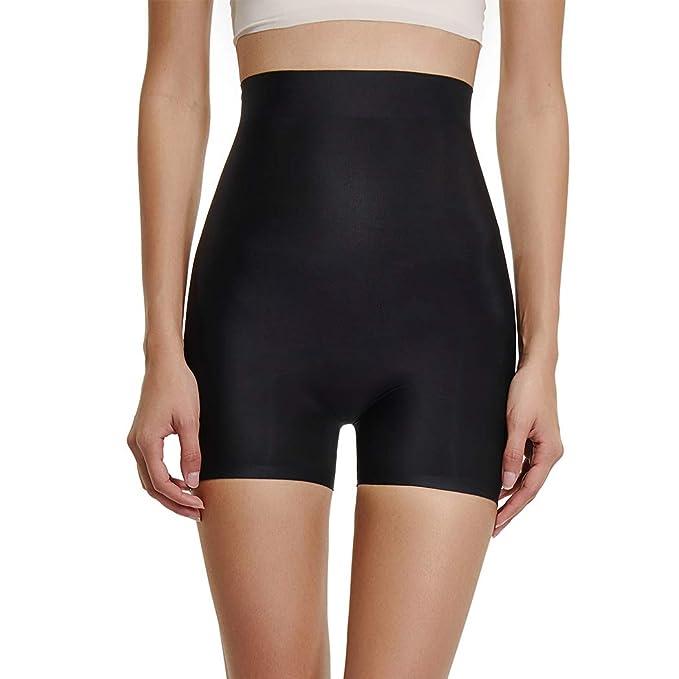 daf7752152 Joyshaper Womens High Waist Butt Lifter Shapewear with Tummy Control Padded  Panties Hip Enhancer Underwear(