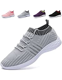 Women's Lightweight Walking Shoes Breathable Mesh Casual...