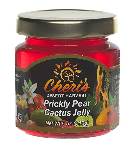 - Cheris Desert Harvest, Jelly Prickly Pear, 5 Ounce (Packaging may vary)