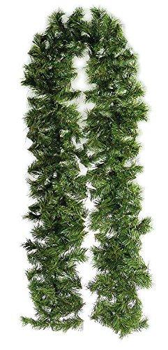 Girlande Weihnachtsgirlande rot Folienstreifen 200 cm neu