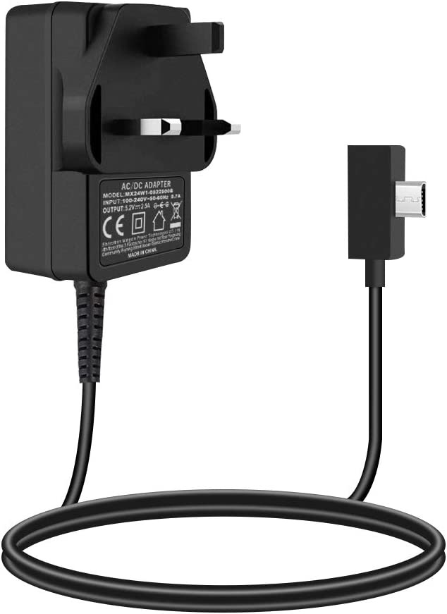 Surface 3 Charger Model 1623 1624 1645 Tablet aifulo 13W 5.2V//2.5A AC Power Adapter Supply Compatible with Surface 3