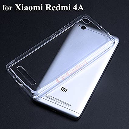 uk availability 9e614 8c4b5 Transparent Case and Cover for Xiaomi Redmi 4A: Amazon.in: Electronics