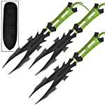 Dark Nexus 3 Piece Stainless Steel Aerodynamic Throwing Target Knife Set