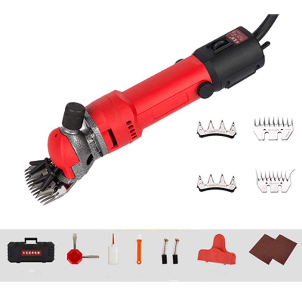 1000W Professional Heavy Duty Electric Shearing Clippers with 6 Speed, for Shaving Fur Wool in Sheep, Goats, Cattle, and other Farm Livestock Pet