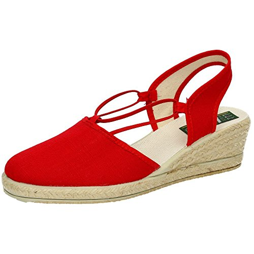 Stonefly , Damen Espadrilles Rot Rosso