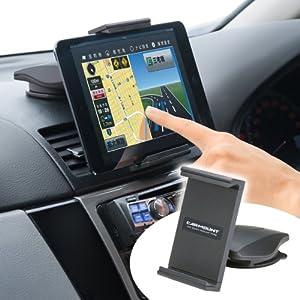 SANWA SUPPLY 7インチタブレット用 車載ホルダー CAR-HLD6BK