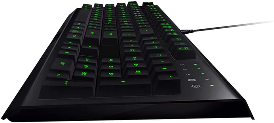 - Green Light 104 Key Keyboard USB Interface Computer Accessories Game Keyboard and Mouse Cable Set Non-Mechanical DR