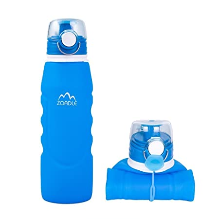 Review ZOADLE Collapsible Water Bottles