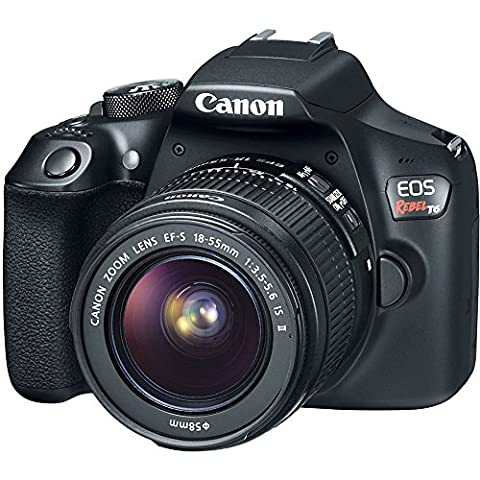 Canon EOS Rebel T6 Digital SLR Camera Kit with EF-S 18-55mm f/3.5-5.6 IS II Lens, Built-in WiFi and NFC - Black (Certified - Canon Digital Rebel Kit