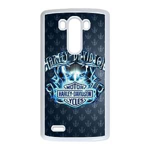 Harley Davidson LG G3 Cell Phone Case White DIY Gift pxf005_0241367