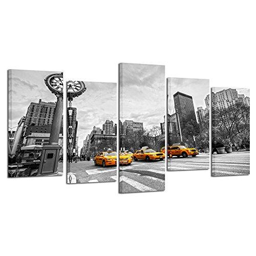 5 panel new york canvas - 7