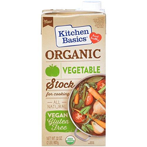 Kitchen Basics Organic Vegetable Stock, 32 oz (Case of (Basic Vegetable Stock)
