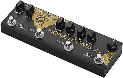Festnight Caline CP-48 Honey Comb Guitarra acústica Multiefectos ...