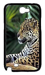 Samsung Note II Case Amazon Rainforest Jaguar PC Custom Samsung Note 2 Case Cover Black