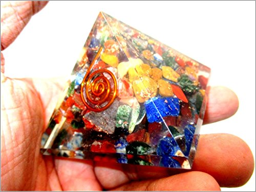 Jet Orgone Pyramid Ions Generator 1 5 Inch Natural Charged Emf Harmonizer Energy Chakra Blancing Meditation Vastu Healing Gemstone Jet Crystal Therapy Booklet Hand Carved Energized Protection Divine