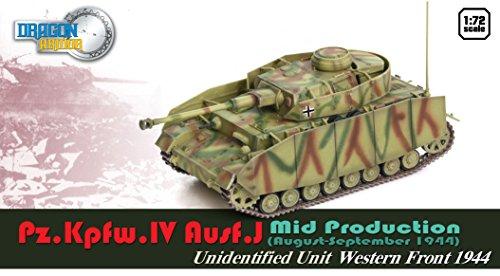 Dragon Models Pz.Kpfw.IV Ausf.J Mid Production Model Kit (1/72 Scale)
