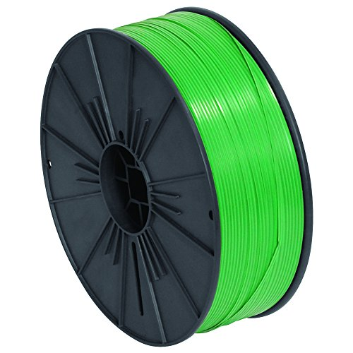 Ship Now Supply SNPLTS532G Plastic Twist Tie Spool, 5/32'' x 7000', 0.156'' width, green by Ship Now Supply