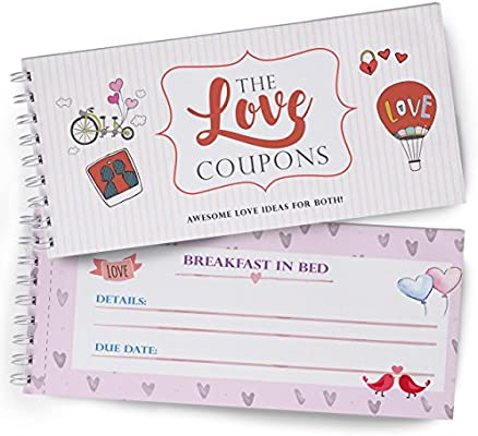 amazon com love coupons for lovers great gift of love wife coupon