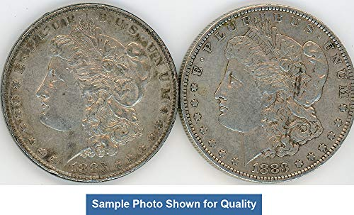 1883 P & O Morgan Silver Dollar - Set of 2 XF ()