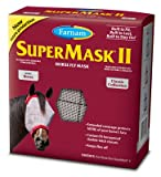 Central Garden & Pet 100526865 SuperMask II Horse Fly Mask, No Ears - Quantity 12
