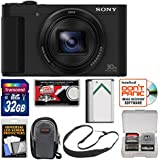 Sony Cyber-Shot DSC-HX80 Wi-Fi Digital Camera with 32GB Card + Case + Battery + Sling Strap + Kit