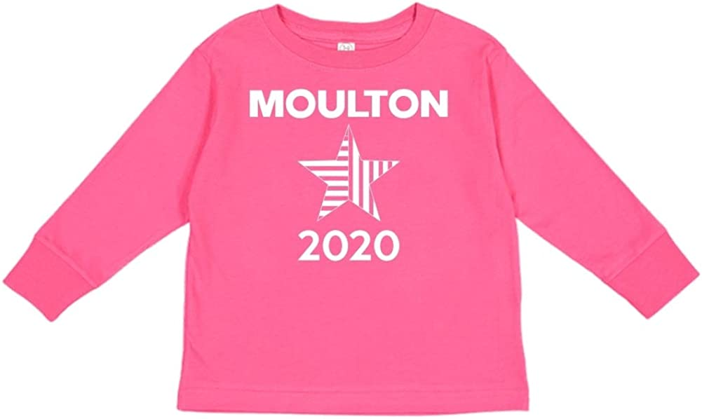 Star Presidential Election 2020 Toddler//Kids Long Sleeve T-Shirt Mashed Clothing Moulton 2020
