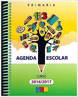 Agenda Escolar 2016/2017. Primaria Elastic Espiral ...