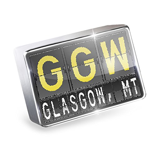 Floating Charm GGW Airport Code for Glasgow, MT Fits Glass Lockets, - Airport Shops Glasgow