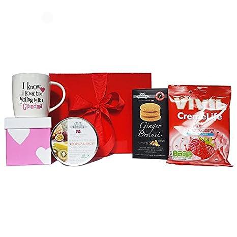 Amazon Com Mother S Day Gift Box With Grandma Mug Sugar Free