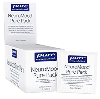 Pure Encapsulations - NeuroMood Pure Pack - Comprehensive Dietary Supplement for Positive Mood and Emotional Wellness* - 30 Packets
