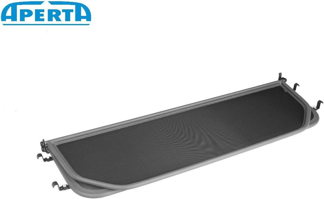 Windstopper Mercedes-Benz convertible Draft-stop Aperta Grey wind deflector compatible with Mercedes-Benz SL-Class 107 Tailor made windblocker