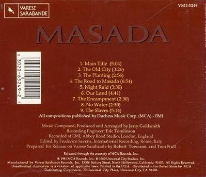 Masada - Jerry Goldsmith, OST: Amazon.de: Musik