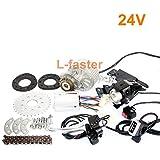 L-faster rápido El Kit más Nuevo del Motor de la E-Bici de 450W Kit múltiple eléctrico de la conversión de la Bicicleta de la Velocidad Kit
