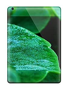 Tough Ipad YzEKqbh7508NKaXS Case Cover/ Case For Ipad Air(greendrops Green Drops Nature Other)
