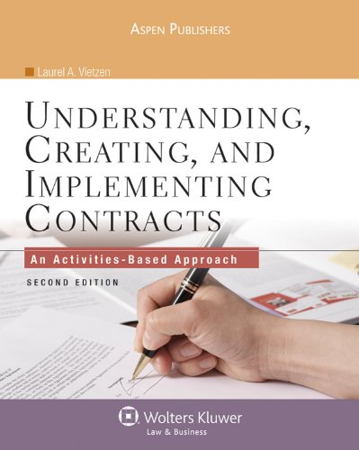 Understanding Creating & Implementing Contracts 2e